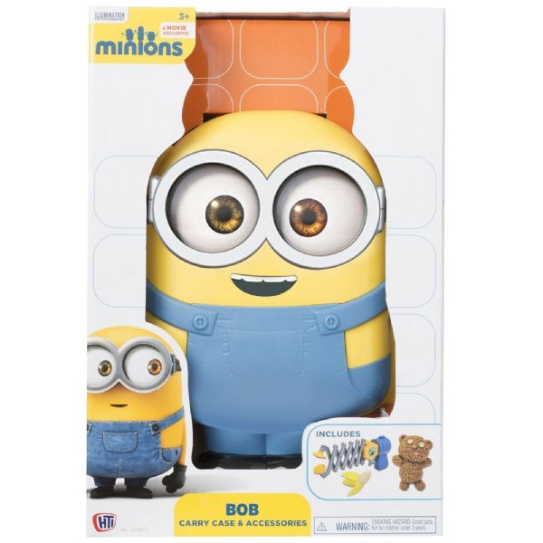 HTI Despicable Me Minions Bob Carry Case & Accessories 3+ Years 1416072